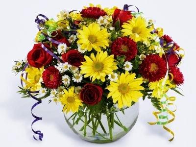 O vaza superba cu flori